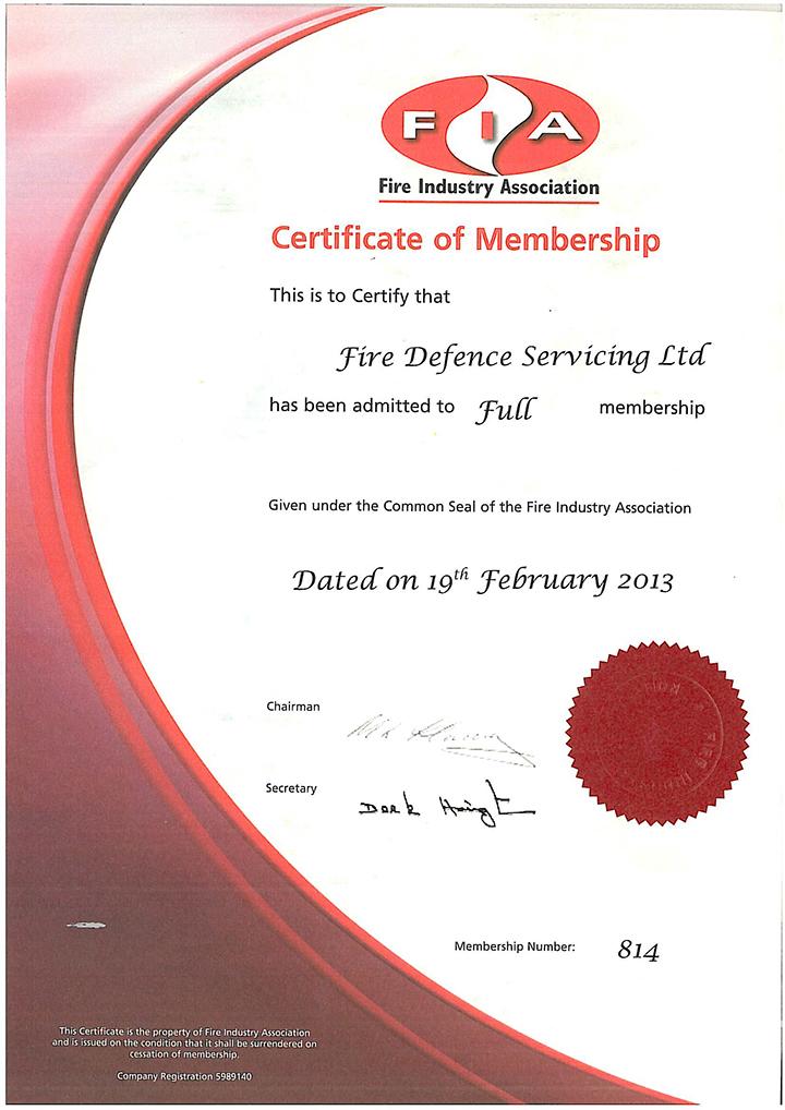 FIA-Members-Certificate