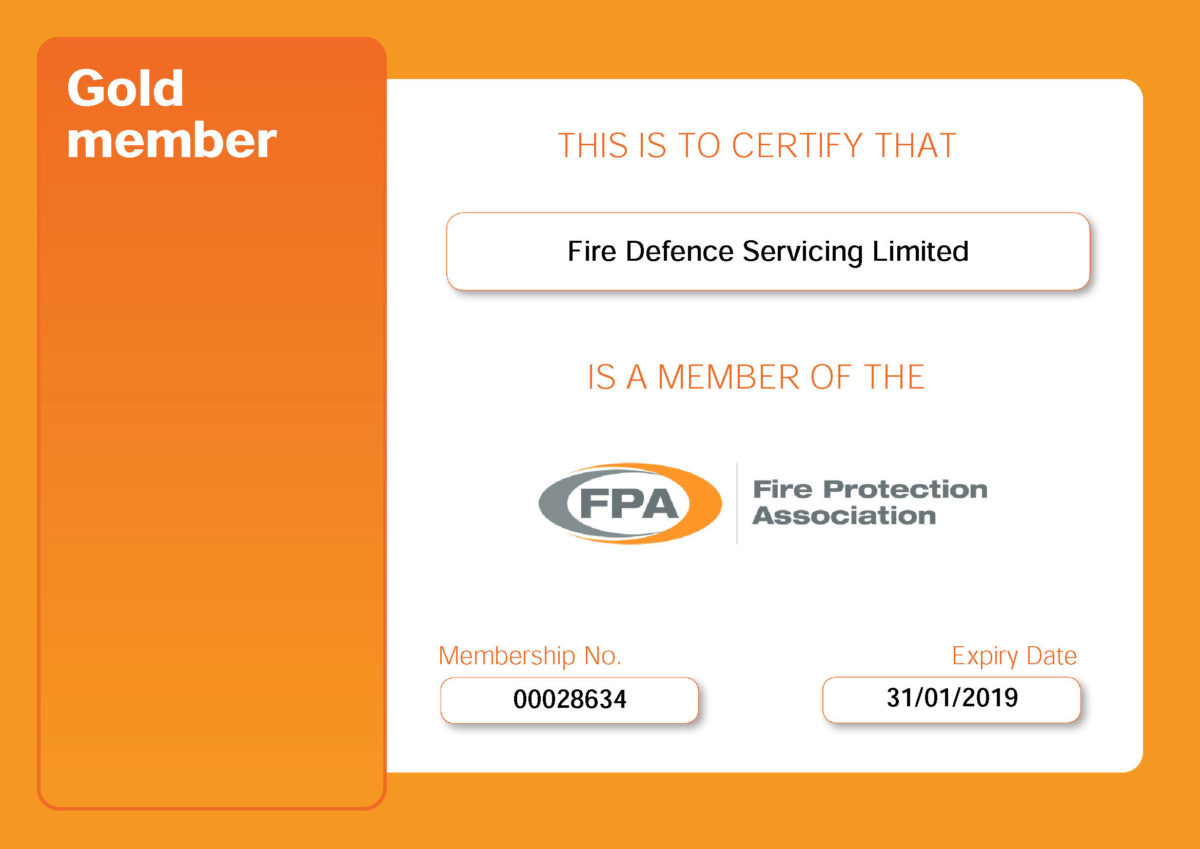 The Fire Protection Association Fpa Fire Defence Servicing