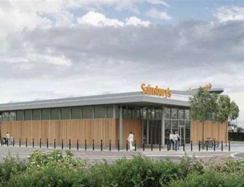 New Project for Sainsburys – Staplehurst, Kent
