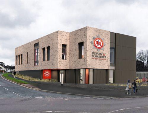 New Fire Sprinkler System for Plymstock Fire Station – Devon